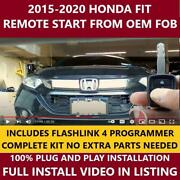 Plug And Play Remote Start 2015-2020 Honda Fit