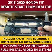 Plug And Play Remote Start 2015-2020 Honda Fit Includes Rfk 411