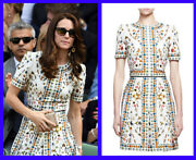 Alexander Mcqueen Prnted Dress As Seen On Kate Middleton 44 - 8