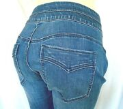 Democracy Women's Jeans Plus Size 18w Ab Solution Pull-on Itty Bitty Boot