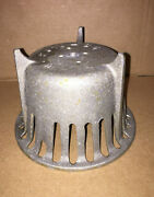 Atomic Steampunk Vintage New Old Stock Floor Drain Strainer Dome Style Metal Art