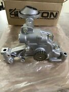 4 Piston K20 / K24 Ported Type S Oil Pump Rear Seal And Blox Oil Pan Baffle Kit.