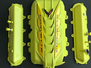 2020 Corvette C8 Engine Cover Accelerate Yellow Valve Covers New