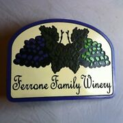 Personalized Wine Cellar 3d Routed Wood Bar Pub Sign Custom