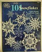 101 Crochet Snowflakes Holiday Christmas Ornaments Best Snowflake Patterns Book