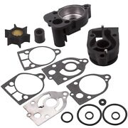 Water Pump Impeller Kit + Base For Mercury 30 35 40 45 50 60 65 70 Hp 46-77177a3