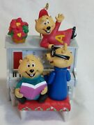 Carlton Cards Alvin And The Chipmunks Musical Christmas Ornament