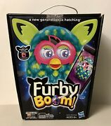 Furby Boom Blue And Green Peacock - New In Box - See Description