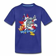 Tom And Jerry Chase High Energy Kidsand039 Premium T-shirt