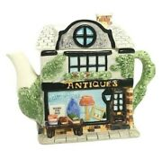 Andrea By Sadek Antiques House Collectible Teapot Ceramic With Lid