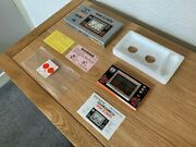Boxed Cgl / Nintendo Game And Watch Fire Attack Vintage 1982 Lcd Game Pristine
