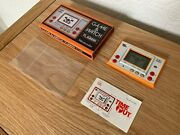 Nintendo / Mego Corp Game And Watch Time Out Flag Man Fl-02 1980 Lcd Game - Mint