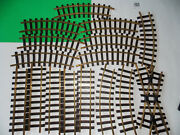 Lgb 1300 Crossover 5x1000 Straight And 10x1100 Curved Track G Scale Solid Brass