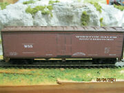 Ho Scale Winston-salem Southbound 40' Reefer No Number If The Wsb Had Reefers