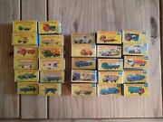Collection Of 28 Matchbox Cars Vgc - Good Conditiondated From 60-80`s