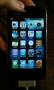 Apple Ipod Touch 4th Generation 8gb A1367 - Cracked Screen