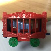 Rare Blue Rhino American Flyer Circus Cage Stamped Allied Excellent Condition