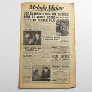 Melody Maker Magazine 7 February 1953 Dizzy Gillespie Jazz Louis Armstrong