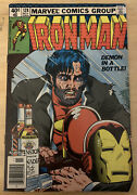 Ironman 128 11/79 Marvel Classic Demon In A Bottle Story