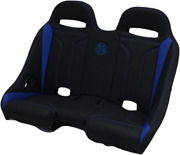 Bs Sands Exbebldtr Extreme Front And Rear Bench Seats Black Blue Double T