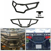 Front And Rear Brush Guard Bumper Set Fit 2014-2020 Polaris Sportsman 450 570 Andetx