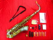 Minerva Tenor Saxophone With Hard Case Shipped From Japan