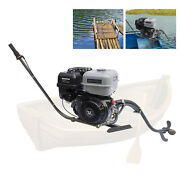 4-stroke 15hp Outboard Motor Fishing Boat Gas Fishing Engine Single-cylinder Usa