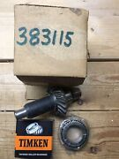 Nos 383115 Shaft Gear And Bearing Omc Stern Drive I/o 1969-1972 Upper Gearcase Gf7