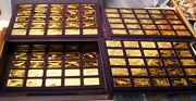 Gorgeous - Franklin Mint - Proof - 24 Kt Gold On Bronze - Janeand039s Aircraft Set