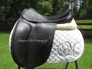 17.5/18 County Connection Xtr Dressage Saddle- Wool Flocked- Wide Tree