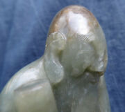 Very Nice Antique Sculpture China Qing Carved Jade Ancient Chinese Giada Cina