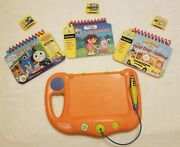 My First Leappad Learning System 3 Game Cartridges And Books Dora Thomas