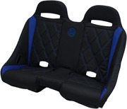 Bs Sands Exbeblbdr Extreme Front And Rear Bench Seats Black Blue Diamond
