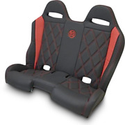 Bs Sands Peberdbdx Performance Front And Rear Bench Seats Red Diamond