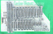 Gardner-wescott P-10-11-01 Big Twin Cam And Primary Cover Sets Polished