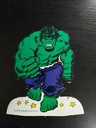 6 Inch Vintage Incredible Hulk Display Stand 1976 Avengers Comic Book Store