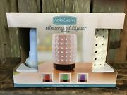 Ambiescents Revive Ultrasonic Essential Oil Diffuser 100ml Color Changing Nib
