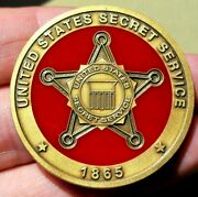 United States Secret Service Challenge Coin Usss 🔥🔥🔥🔥