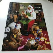 Masterpieces Bearly Christmas Seasons Greetings 500 Pc Puzzle 31064 Tom Browning
