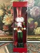 Bombay 2012 Christmas Exclusive Nutcracker Collection Wooden Soldier Boxed 20in