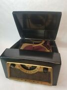 Admiral Record Player Tube Radio Works Vintage 5d31a