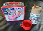 Metal Lunch Box And Thermos 1984 Gremlins