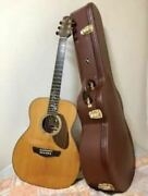 morris Fh-101 Natural 6 String Acoustic Guitar With Hard Case Made In Japan