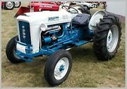 Ford Tractor 4000 Service Parts Owners And Attachments Manuals Cd