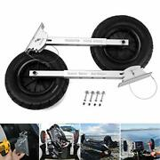 Seamax Deluxe 4 By 4 Boat Launching Dolly With 14 Wheels System Commercial G...