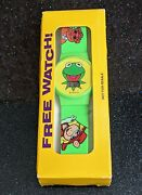 Rare Vintage 1993 Exclusive Design Promo Muppet Watch New In Box