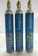 3 Sodastream 60l Co2 Cylinder Replacement Canisters C02 Sodastream Empty