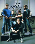 Krokus Genuine Autograph 8x10 Photo Signed In Person Swiss Heavy Metal Band