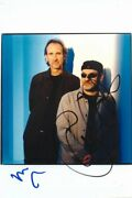 Mike And The Mechanics Mike Rutherford And Paul Carrack Autograph Signed 5x7 Photo