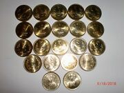 - India - 21 X Rupees Five Andrdquo Coins - 2017 - Nickel Brass - Uncirculated21ar